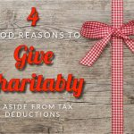 Franklin's Four Good Reasons To Give Charitably, Aside From Tax Deductions