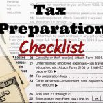 Chuck Franklin CPA, LLC's 2017 Tax Preparation Checklist