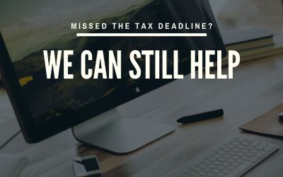 What To Do If You're Among Those Greater Columbus Ohio Taxpayers Who Missed The Tax Deadline