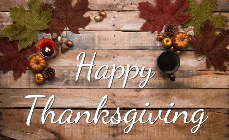 Happy Thanksgiving 2019 from Chuck Franklin CPA, LLC to your family